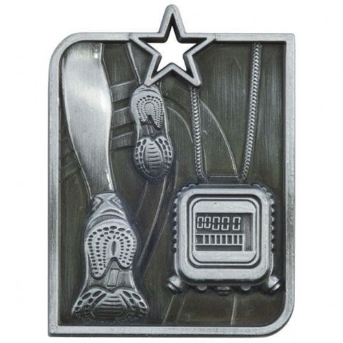 Centurion Star Series Running Medal Silver 53x40mm